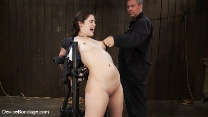 Photo number 12 from Charlotte Vale<br>As honest and real as a girl gets.  shot for Device Bondage on Kink.com. Featuring Charlotte Vale in hardcore BDSM & Fetish porn.