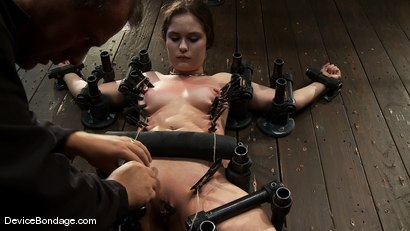 Photo number 13 from Charlotte Vale<br>Just hanging around, orgasmed into subspace hard! shot for Device Bondage on Kink.com. Featuring Charlotte Vale in hardcore BDSM & Fetish porn.