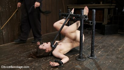 "Photo number 12 from Charlotte Vale<br> ""It's too much it's too much!"" Whaaa! Take it bitch! shot for Device Bondage on Kink.com. Featuring Charlotte Vale in hardcore BDSM & Fetish porn."