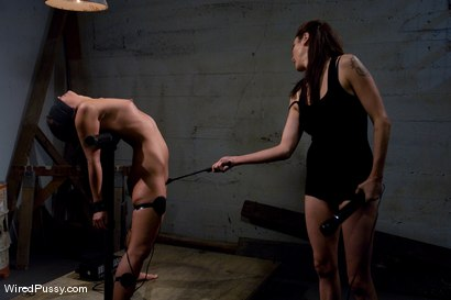 Photo number 10 from Jade Indica gets Spanked and Shocked in hot Lesbian BDSM Scene shot for Wired Pussy on Kink.com. Featuring Miss Jade Indica and Princess Donna Dolore in hardcore BDSM & Fetish porn.