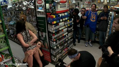 Photo number 4 from 20 Year old Slut gets Used in a Hardware Store shot for Public Disgrace on Kink.com. Featuring John Henry and Lindy Lane in hardcore BDSM & Fetish porn.