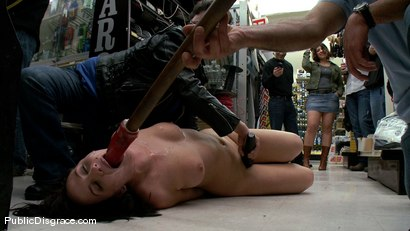 Photo number 15 from 20 Year old Slut gets Used in a Hardware Store shot for Public Disgrace on Kink.com. Featuring John Henry and Lindy Lane in hardcore BDSM & Fetish porn.