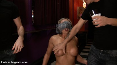 Photo number 1 from Skylar Price  shot for Public Disgrace on Kink.com. Featuring James Deen, Mr. Pete and Skylar Price in hardcore BDSM & Fetish porn.