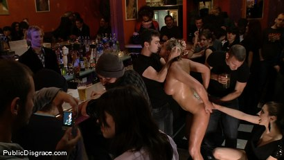 Photo number 2 from Skylar Price  shot for Public Disgrace on Kink.com. Featuring James Deen, Mr. Pete and Skylar Price in hardcore BDSM & Fetish porn.