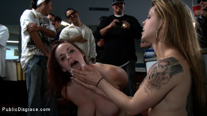 Photo number 15 from Bella Rossi and the Pool Hall shot for Public Disgrace on Kink.com. Featuring Bella Rossi and Dane Cross in hardcore BDSM & Fetish porn.