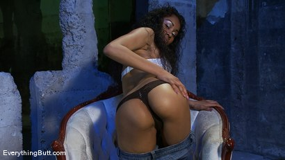 Photo number 14 from Anal Audition: Yasmine de Leon shot for Everything Butt on Kink.com. Featuring Yasmine de Leon in hardcore BDSM & Fetish porn.