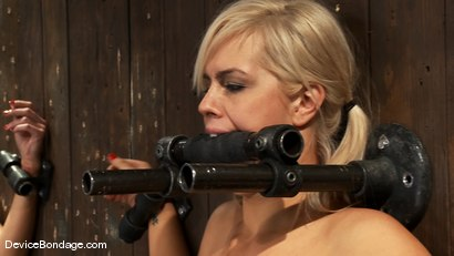 Photo number 4 from Tara Lynn Fox, Mellanie Monroe, and Isis Love<br> Part 3 of 4 of the December Live Show shot for Device Bondage on Kink.com. Featuring Isis Love, Tara Lynn Foxx and Mellanie Monroe in hardcore BDSM & Fetish porn.