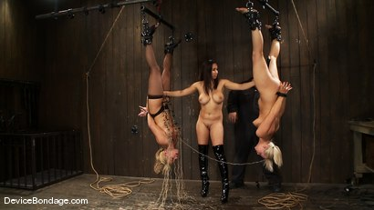 Photo number 8 from Tara Lynn Fox, Mellanie Monroe, and Isis Love<br> Part 4 of 4 of the December Live Show shot for Device Bondage on Kink.com. Featuring Isis Love, Mellanie Monroe and Tara Lynn Foxx in hardcore BDSM & Fetish porn.