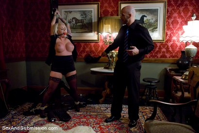 Photo number 5 from Stealing Maid shot for Sex And Submission on Kink.com. Featuring Derrick Pierce and Angel Vain in hardcore BDSM & Fetish porn.