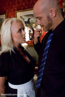 Photo number 1 from Stealing Maid shot for Sex And Submission on Kink.com. Featuring Derrick Pierce and Angel Vain in hardcore BDSM & Fetish porn.
