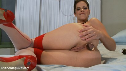 Photo number 3 from Anal Antics: Nurse Bobbi Starr shot for Everything Butt on Kink.com. Featuring Bobbi Starr in hardcore BDSM & Fetish porn.