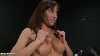 Photo number 1 from Amateur Casting Couch: Gia DiMarco shot for Hogtied on Kink.com. Featuring Gia DiMarco in hardcore BDSM & Fetish porn.