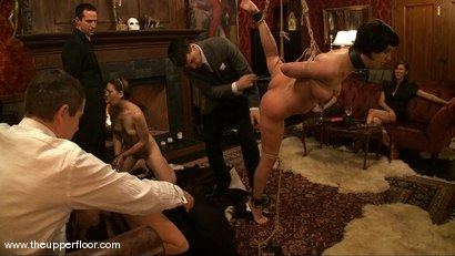 Photo number 11 from Torn's Review shot for The Upper Floor on Kink.com. Featuring Cherry Torn and Sarah Shevon in hardcore BDSM & Fetish porn.