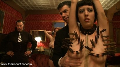 Photo number 5 from Maestro Stefanos' visit shot for The Upper Floor on Kink.com. Featuring Cherry Torn and Sarah Shevon in hardcore BDSM & Fetish porn.