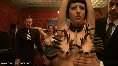 Photo number 12 from Maestro Stefanos' visit shot for The Upper Floor on Kink.com. Featuring Cherry Torn and Sarah Shevon in hardcore BDSM & Fetish porn.