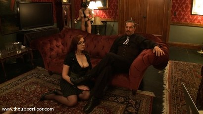 Photo number 15 from Maestro Stefanos' visit shot for The Upper Floor on Kink.com. Featuring Cherry Torn and Sarah Shevon in hardcore BDSM & Fetish porn.