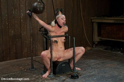 Photo number 11 from Lorelei Lee<br>Strappado, Bowling Ball, Sybian, Orgasms, not in that order.. shot for Device Bondage on Kink.com. Featuring Lorelei Lee in hardcore BDSM & Fetish porn.
