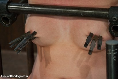 Photo number 9 from Lorelei Lee  Strappado, Bowling Ball, Sybian, Orgasms, not in that order.. shot for Device Bondage on Kink.com. Featuring Lorelei Lee in hardcore BDSM & Fetish porn.