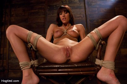 Photo number 4 from Gia DeMarco Holy Fuck! shot for Hogtied on Kink.com. Featuring Gia DiMarco in hardcore BDSM & Fetish porn.