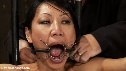 Photo number 3 from Tia Ling<br> Can orgasms be a form of torment?<br>Short answer is YES! shot for Device Bondage on Kink.com. Featuring Tia Ling in hardcore BDSM & Fetish porn.