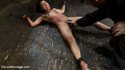 Photo number 5 from Tia Ling<br> Orgasmed to the edge of mortal sanity. Seriously! shot for Device Bondage on Kink.com. Featuring Tia Ling in hardcore BDSM & Fetish porn.