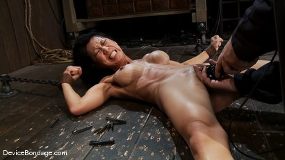 Photo number 13 from Tia Ling<br> Orgasmed to the edge of mortal sanity. Seriously! shot for Device Bondage on Kink.com. Featuring Tia Ling in hardcore BDSM & Fetish porn.