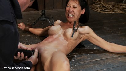 Photo number 10 from Tia Ling<br> Orgasmed to the edge of mortal sanity. Seriously! shot for Device Bondage on Kink.com. Featuring Tia Ling in hardcore BDSM & Fetish porn.