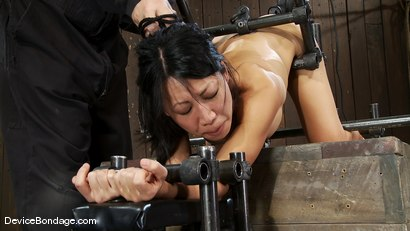 Photo number 10 from Tia Ling<br>Such a tiny ass, such a huge machine cock! shot for Device Bondage on Kink.com. Featuring Tia Ling in hardcore BDSM & Fetish porn.