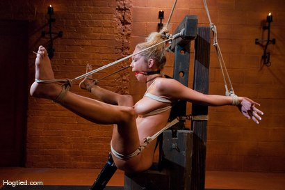 Photo number 9 from EXTREME FUCKING ORGASMS: Rain DeGrey shot for Hogtied on Kink.com. Featuring Rain DeGrey in hardcore BDSM & Fetish porn.