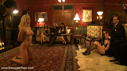Photo number 6 from Slave Review: Holly Heart on the Upper Floor shot for The Upper Floor on Kink.com. Featuring Cherry Torn, Sarah Shevon and Holly Heart in hardcore BDSM & Fetish porn.