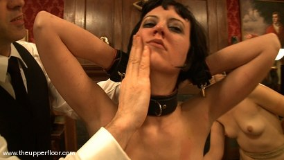 Photo number 7 from Service Sessions: Preparing the Slave shot for The Upper Floor on Kink.com. Featuring Cherry Torn and Sarah Shevon in hardcore BDSM & Fetish porn.