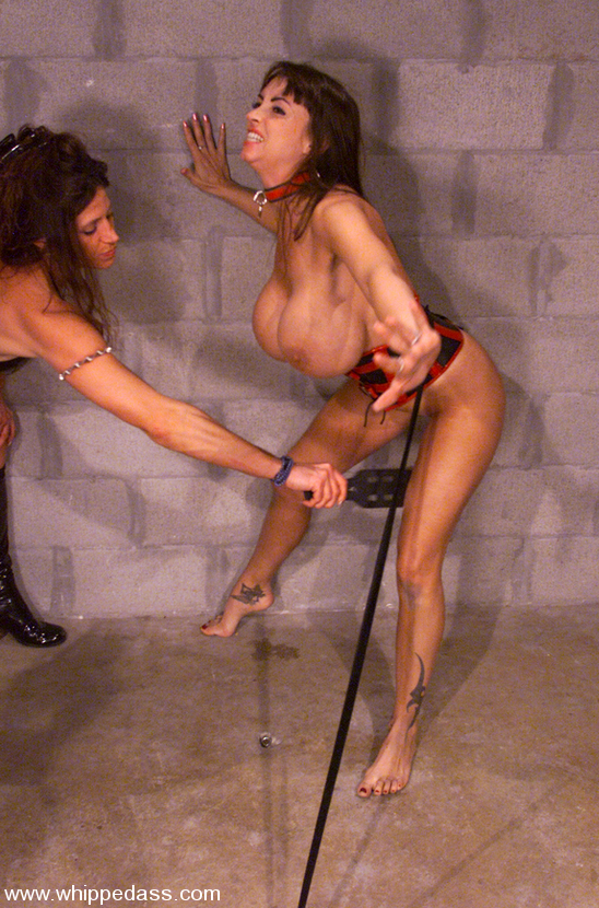 Gagged bondage pantyhose tight rope big