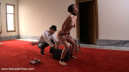 Photo number 14 from Service Sessions: Slave Workout shot for The Upper Floor on Kink.com. Featuring Cherry Torn and Sarah Shevon in hardcore BDSM & Fetish porn.