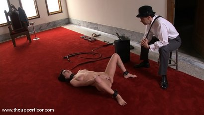 Photo number 9 from Service Sessions: Slave Workout shot for The Upper Floor on Kink.com. Featuring Cherry Torn and Sarah Shevon in hardcore BDSM & Fetish porn.