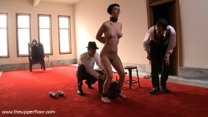 Photo number 7 from Service Sessions: Slave Workout shot for The Upper Floor on Kink.com. Featuring Cherry Torn and Sarah Shevon in hardcore BDSM & Fetish porn.