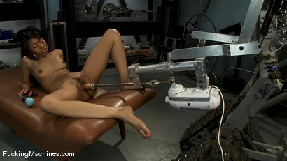 Photo number 10 from AMATEUR GIRL FRIDAYS <BR> Yasmine De Leon shot for Fucking Machines on Kink.com. Featuring Yasmine de Leon in hardcore BDSM & Fetish porn.