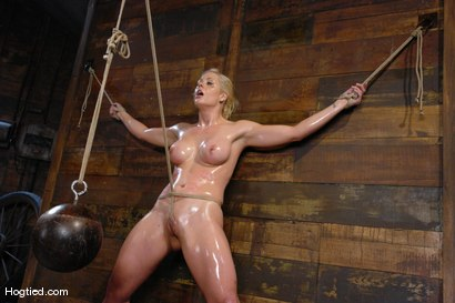 Photo number 11 from One Tough Bitch: Holly Heart and Maestro shot for Hogtied on Kink.com. Featuring Holly Heart and Maestro in hardcore BDSM & Fetish porn.