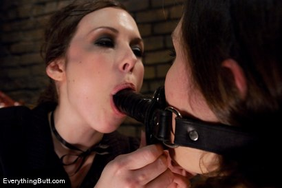 Photo number 5 from Yes Miss Seda... shot for Everything Butt on Kink.com. Featuring Charlotte Vale and Seda in hardcore BDSM & Fetish porn.