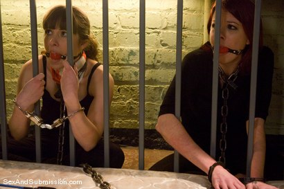 Photo number 3 from Breaking and Entering shot for Sex And Submission on Kink.com. Featuring Seda, Mark Davis and Lilla Katt in hardcore BDSM & Fetish porn.