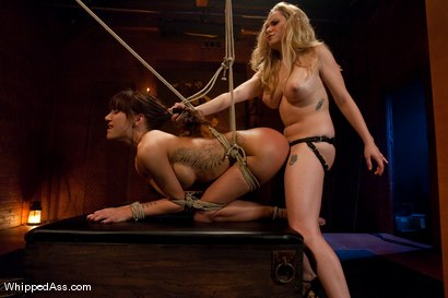Photo number 10 from Gia DiMarco shot for Whipped Ass on Kink.com. Featuring Gia DiMarco and Aiden Starr in hardcore BDSM & Fetish porn.