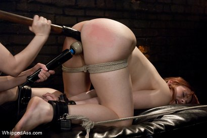 Photo number 8 from Chamille's First Lesbian Experience shot for Whipped Ass on Kink.com. Featuring Aiden Starr and Chamille in hardcore BDSM & Fetish porn.