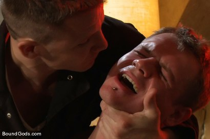 Photo number 9 from The New Creepy Janitor shot for Bound Gods on Kink.com. Featuring Trent Diesel and Brenn Wyson in hardcore BDSM & Fetish porn.