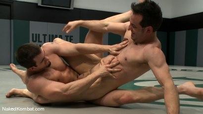 Photo number 5 from Phenix Saint vs Jason Miller shot for Naked Kombat on Kink.com. Featuring Phenix Saint and Jason Miller in hardcore BDSM & Fetish porn.