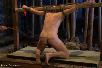 Photo number 9 from Bushido shot for Bound Gods on Kink.com. Featuring Nick Moretti and Jason Miller in hardcore BDSM & Fetish porn.