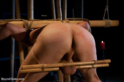Photo number 11 from Bushido shot for Bound Gods on Kink.com. Featuring Nick Moretti and Jason Miller in hardcore BDSM & Fetish porn.