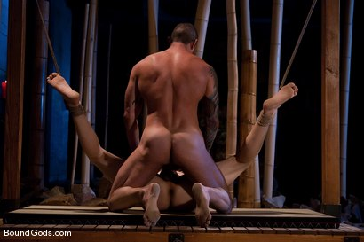 Photo number 14 from Bushido shot for Bound Gods on Kink.com. Featuring Nick Moretti and Jason Miller in hardcore BDSM & Fetish porn.