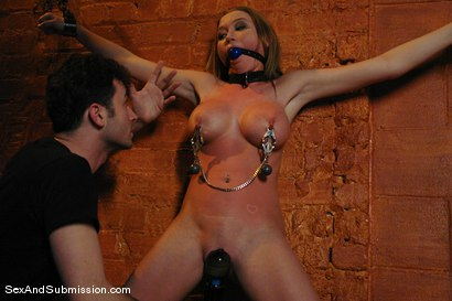 Photo number 6 from Madison Scott shot for Sex And Submission on Kink.com. Featuring James Deen and Madison Scott in hardcore BDSM & Fetish porn.