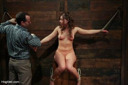 Photo number 14 from Amateur Casting Couch: Lauren Barnett shot for Hogtied on Kink.com. Featuring Lauren Barnett in hardcore BDSM & Fetish porn.