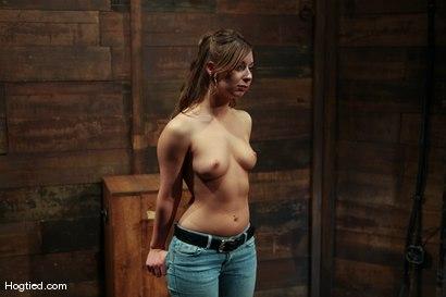 Photo number 4 from Amateur Casting Couch: Lauren Barnett shot for Hogtied on Kink.com. Featuring Lauren Barnett in hardcore BDSM & Fetish porn.