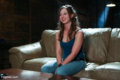 Photo number 1 from Amateur Casting Couch: Lauren Barnett shot for Hogtied on Kink.com. Featuring Lauren Barnett in hardcore BDSM & Fetish porn.